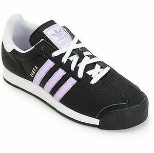 adidas Samoa Black & Purple Women's Shoes